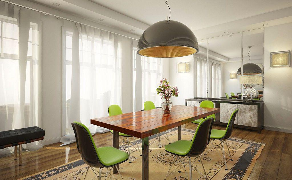 Image of: Dining Room Designs For Apartments