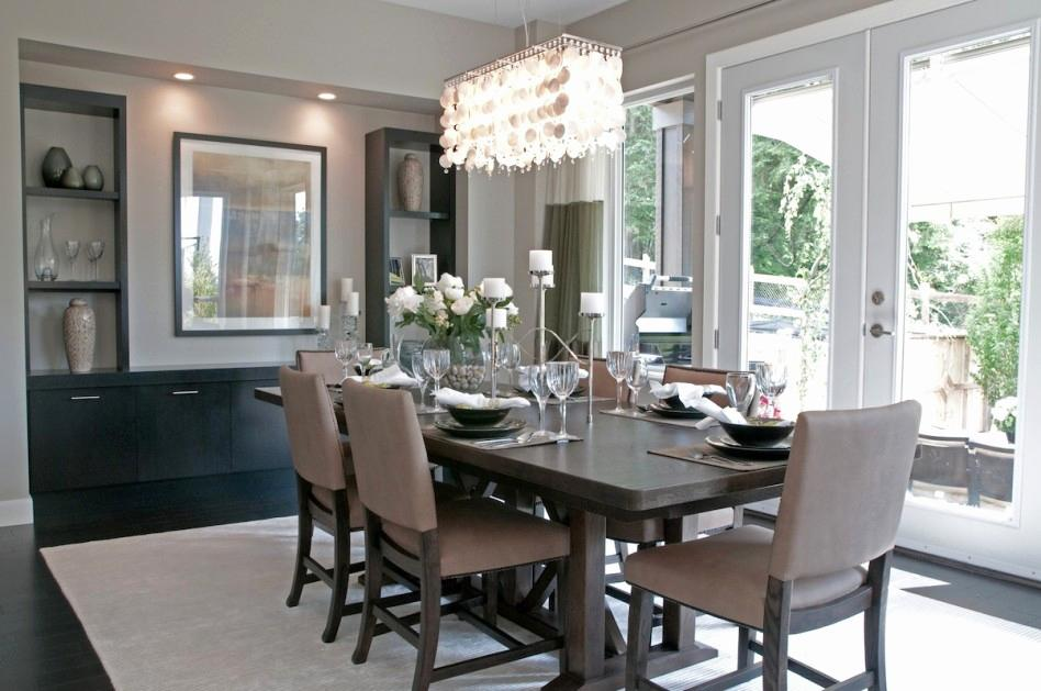 Image of: Dining Room Lighting Ideas Farmhous