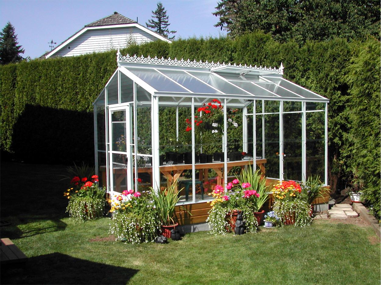 Image of: Diy Greenhouse Pictures
