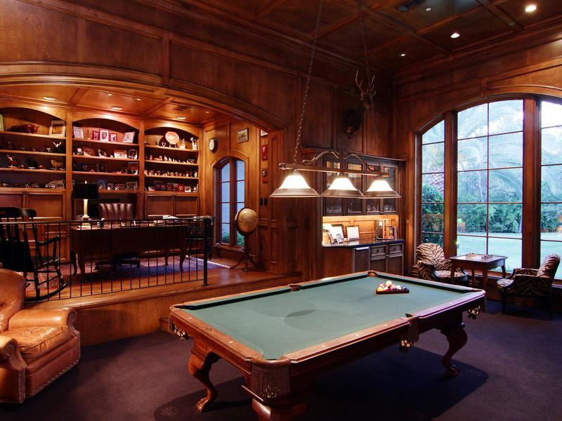 Amazing Billiard Room Decorating Ideas