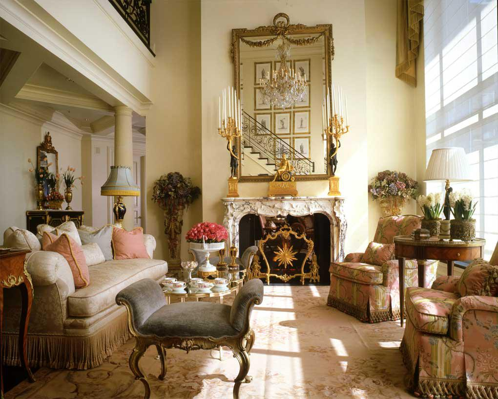 Image of: Elegant French Style Interior
