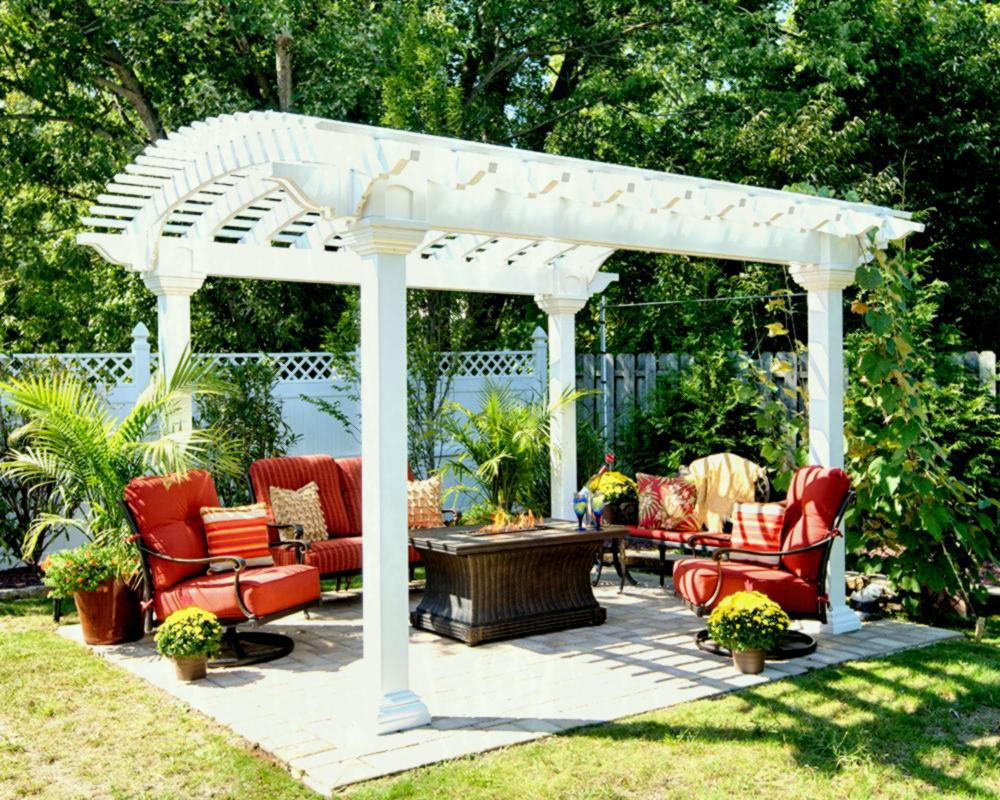 Image of: Elegant Garden Pergola Design Ideas