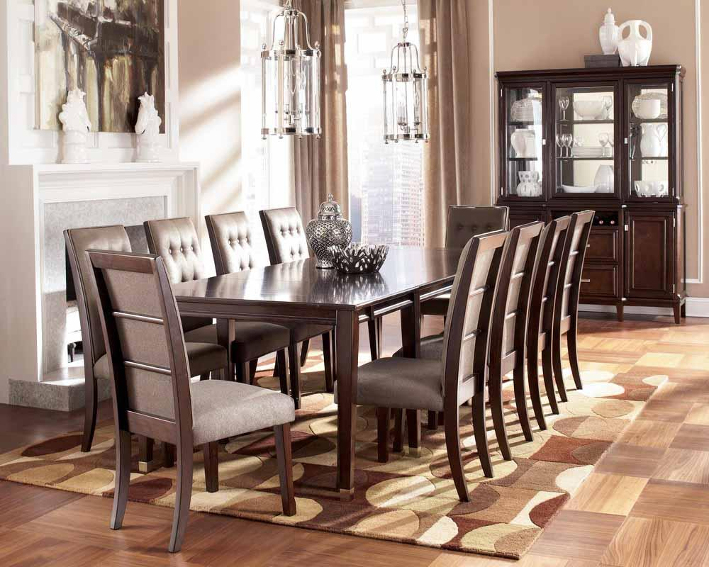 Image of: Farmhouse Dining Room Table Plans
