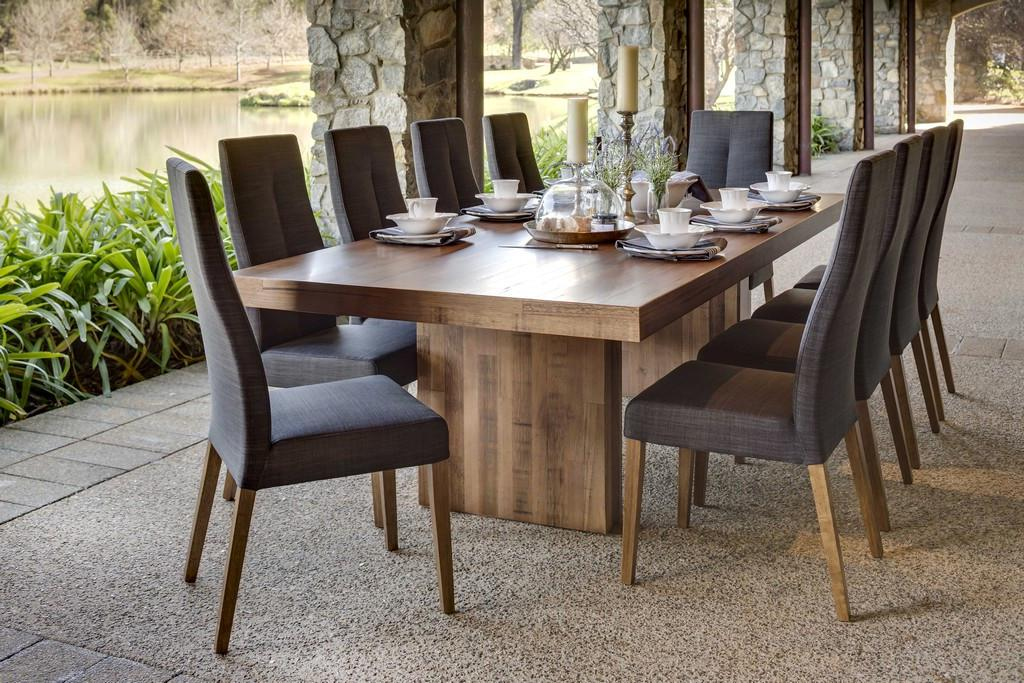 Image of: Farmhouse Dining Room Table