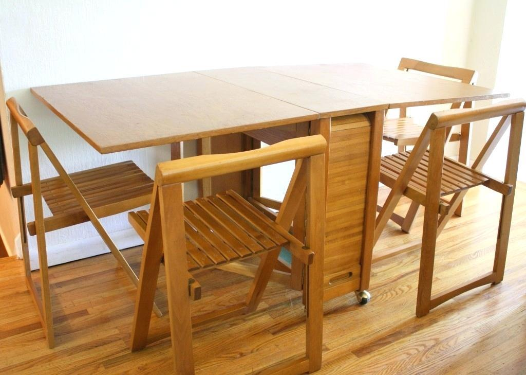 Image of: Folding Dining Chairs