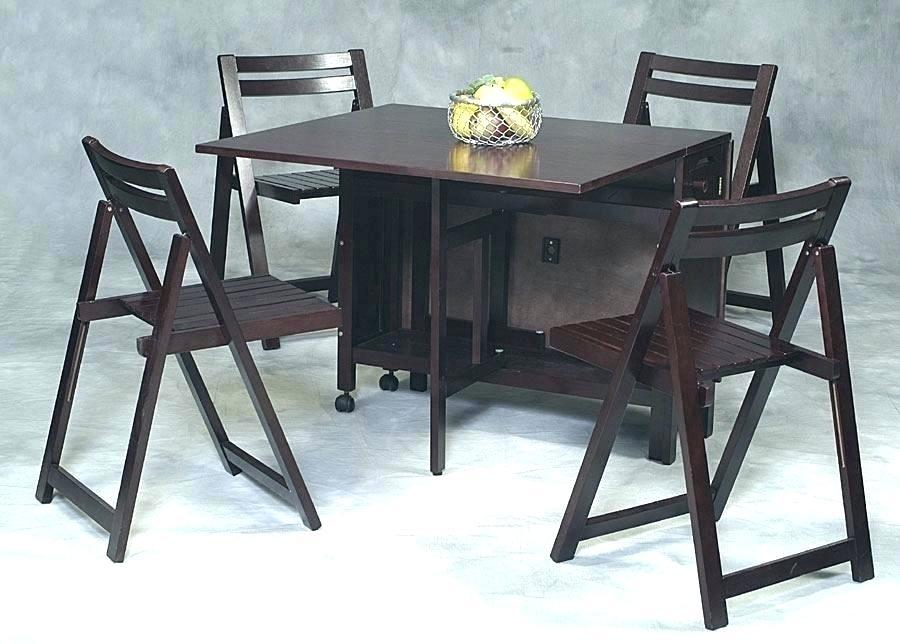 Image of: Folding Dining Set Ikea