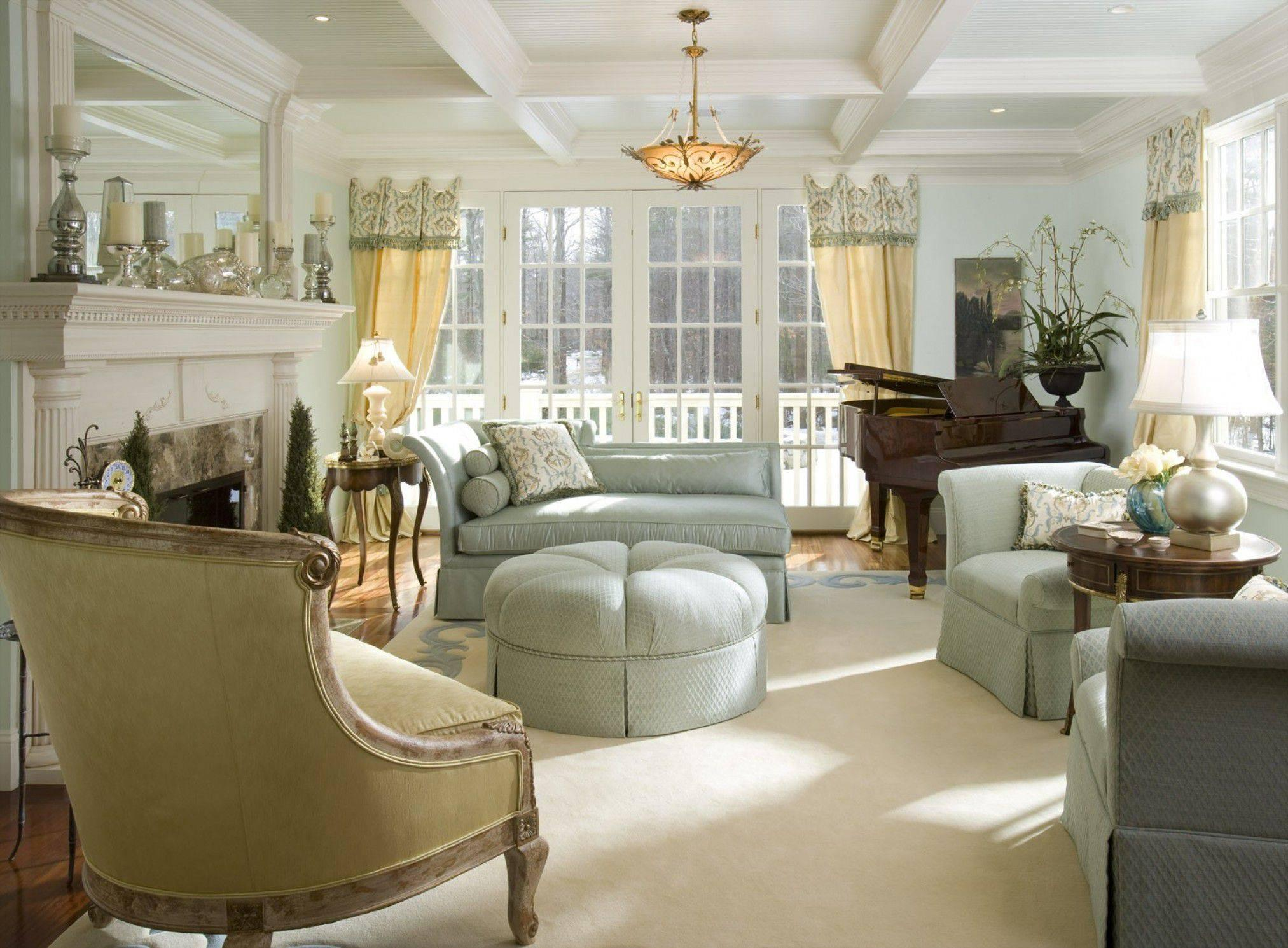 Image of: French Country interiors