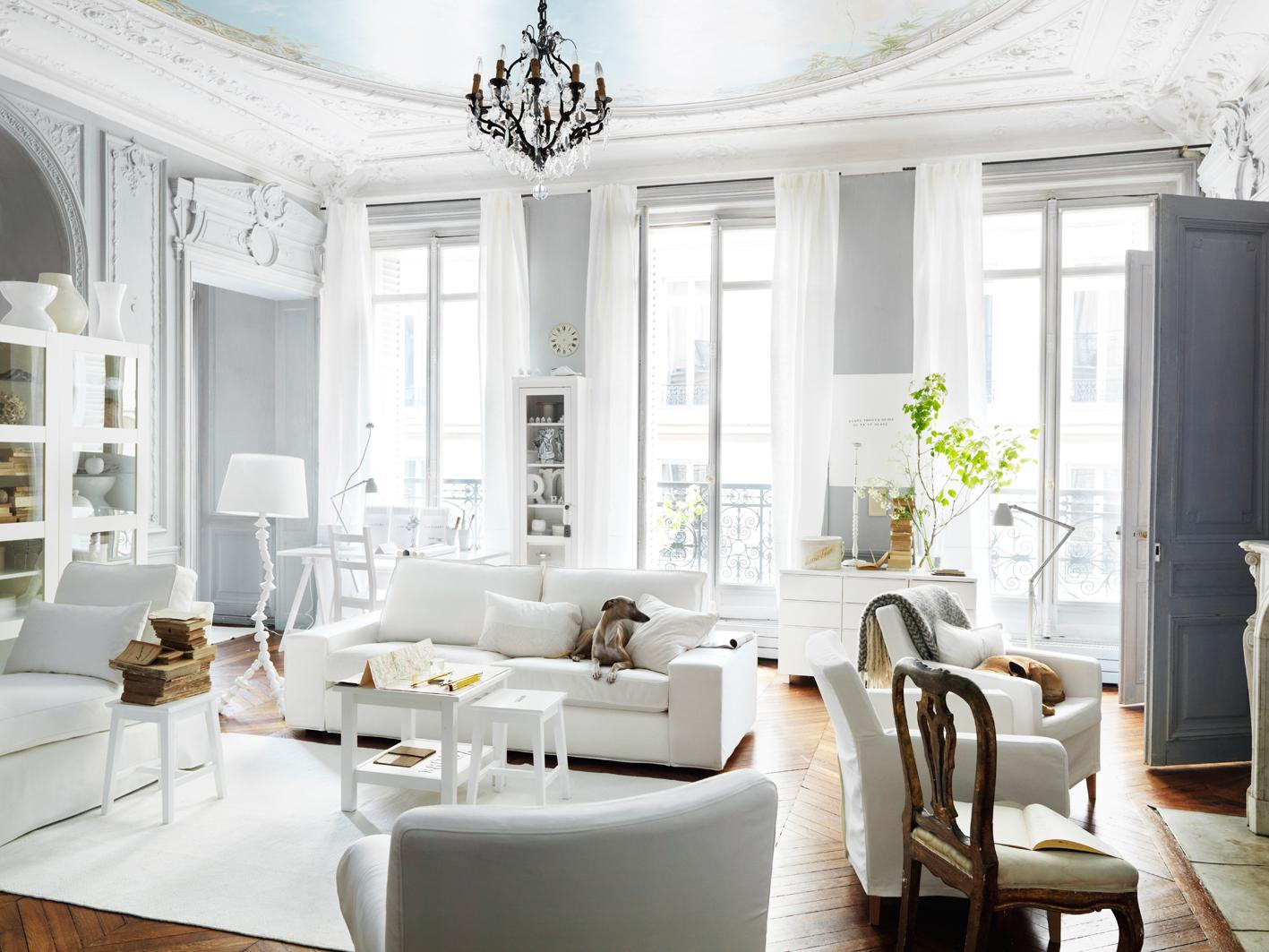 Image of: French Style Interiors Design