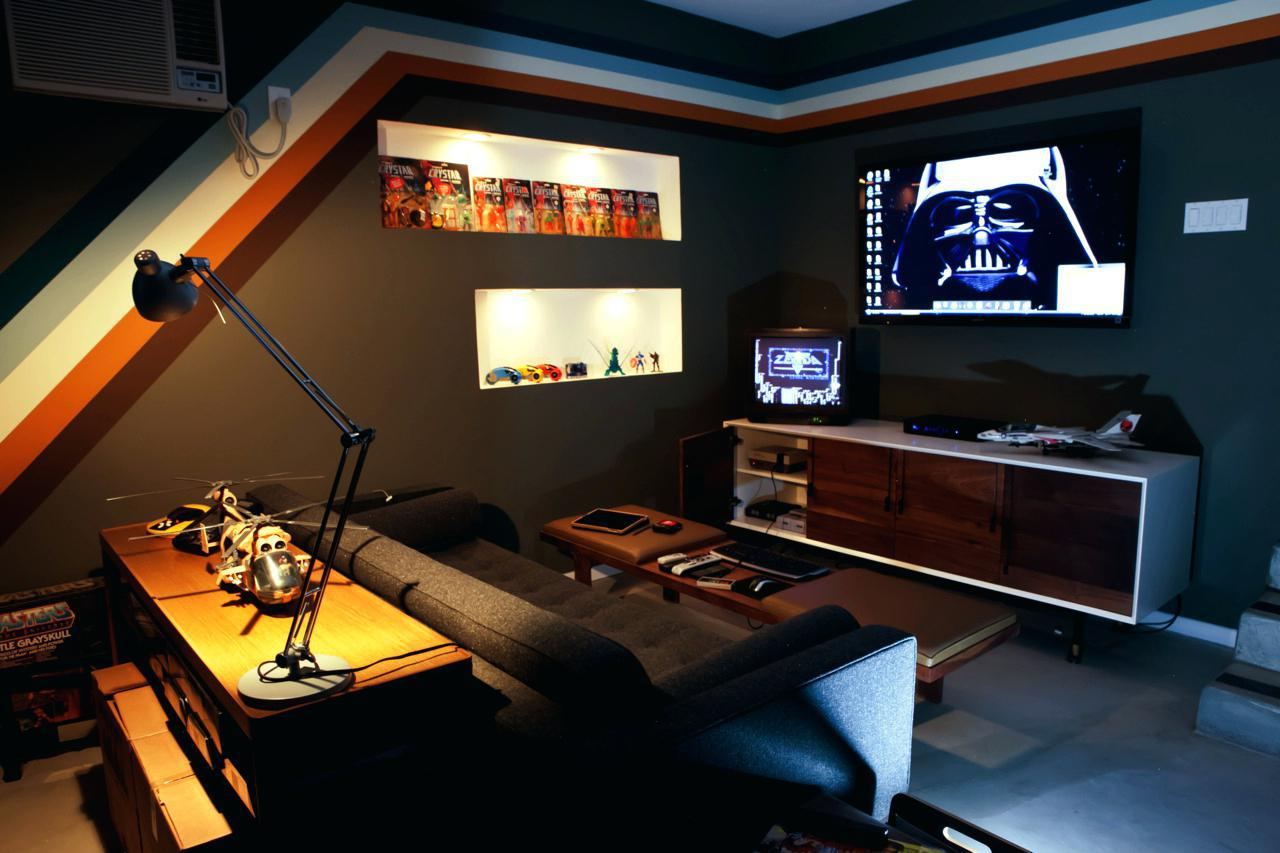 Image of: Game Room Ideas Small