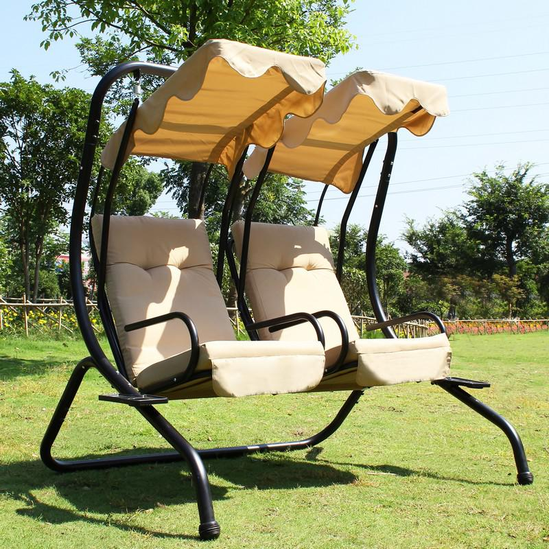 Image of: Garden Swing Chair Cushions