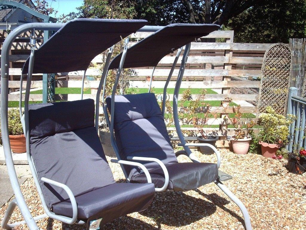 Image of: Garden Swing Chair