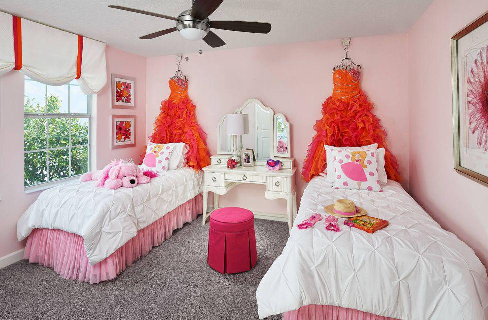 Image of: Girl Twin Beds Furniture