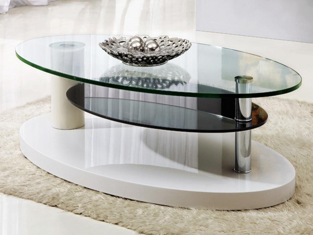 Image of: Glass Coffe Tables