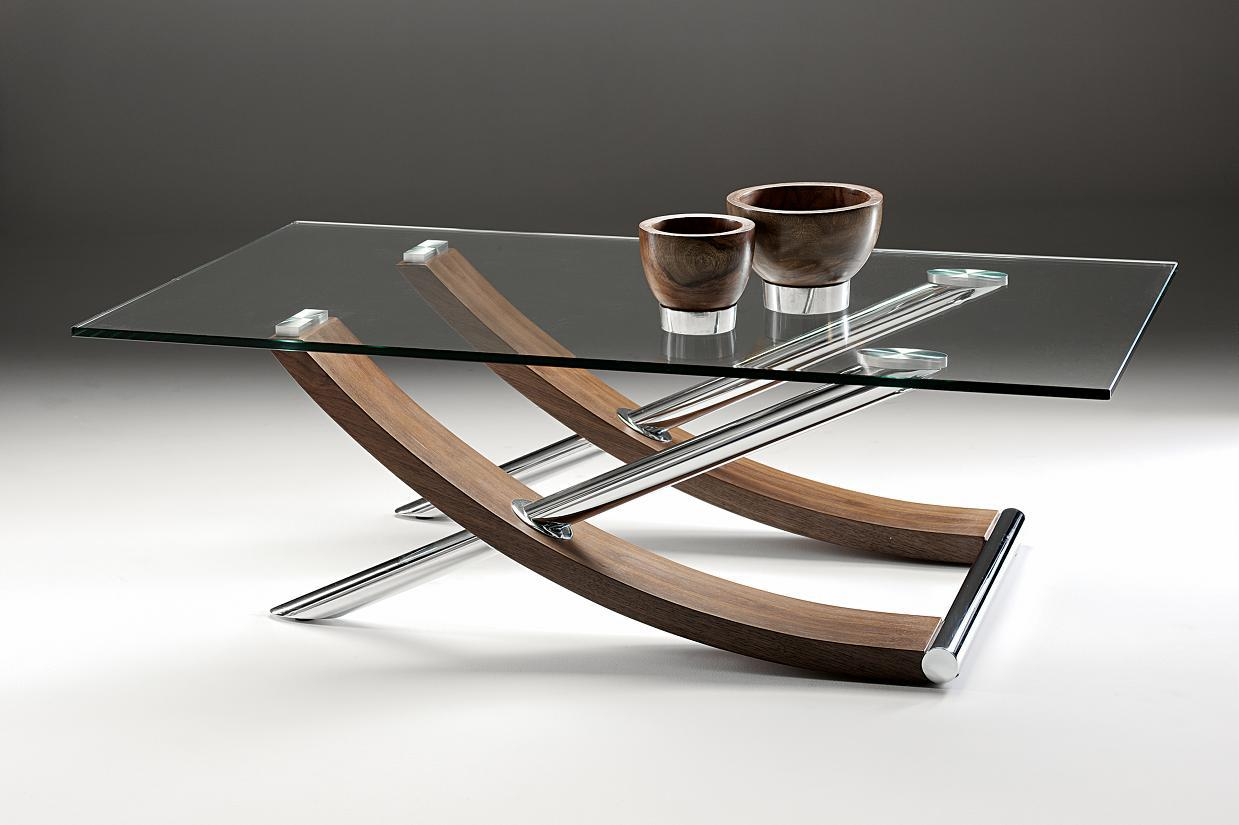 Image of: Glass Coffee Table Ikea