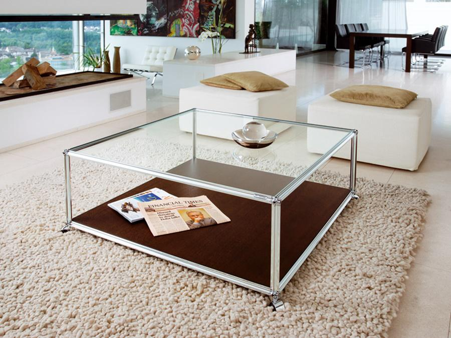 Image of: Glass Coffee Table Sets