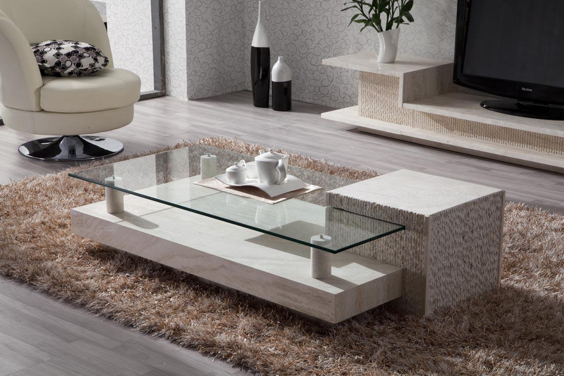 Image of: Glass Coffee Tables For Living Room