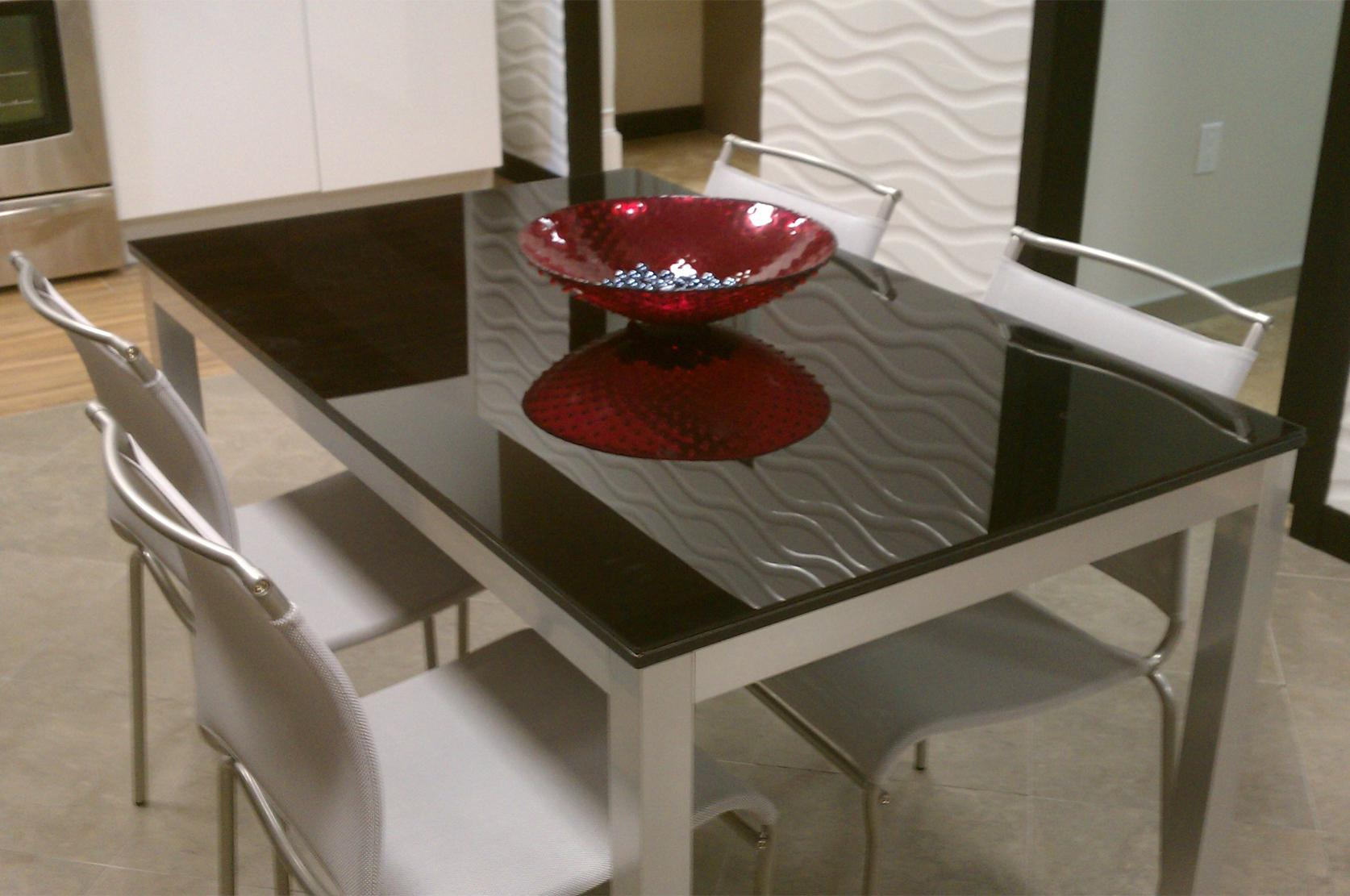 Image of: Glass Table Top Near Me