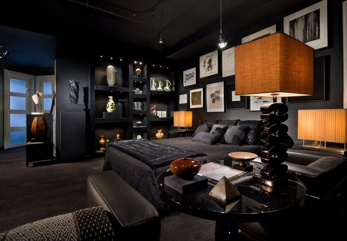 Image of: Gothic Bedroom Decorating Ideas
