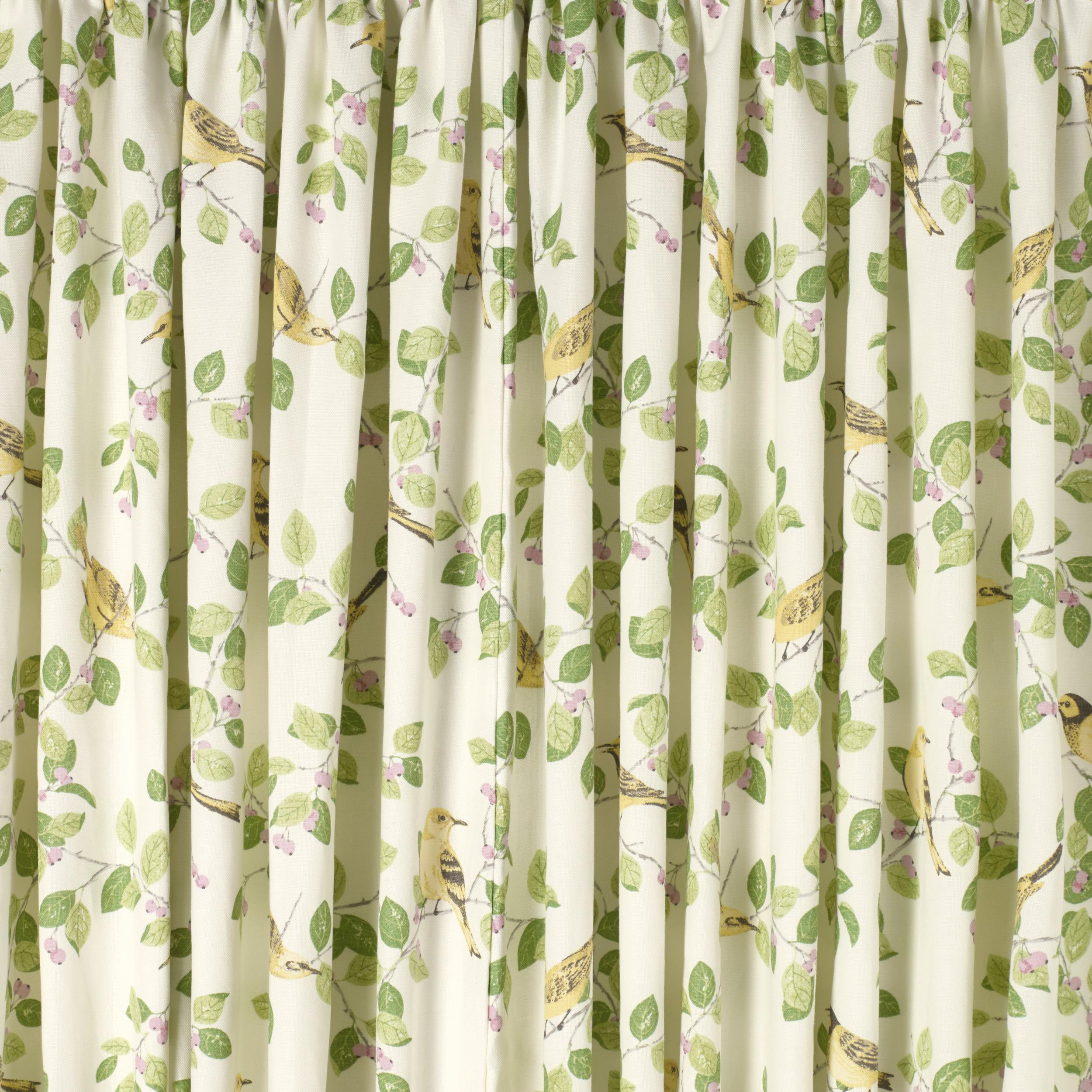 Image of: Green And White Striped Curtains