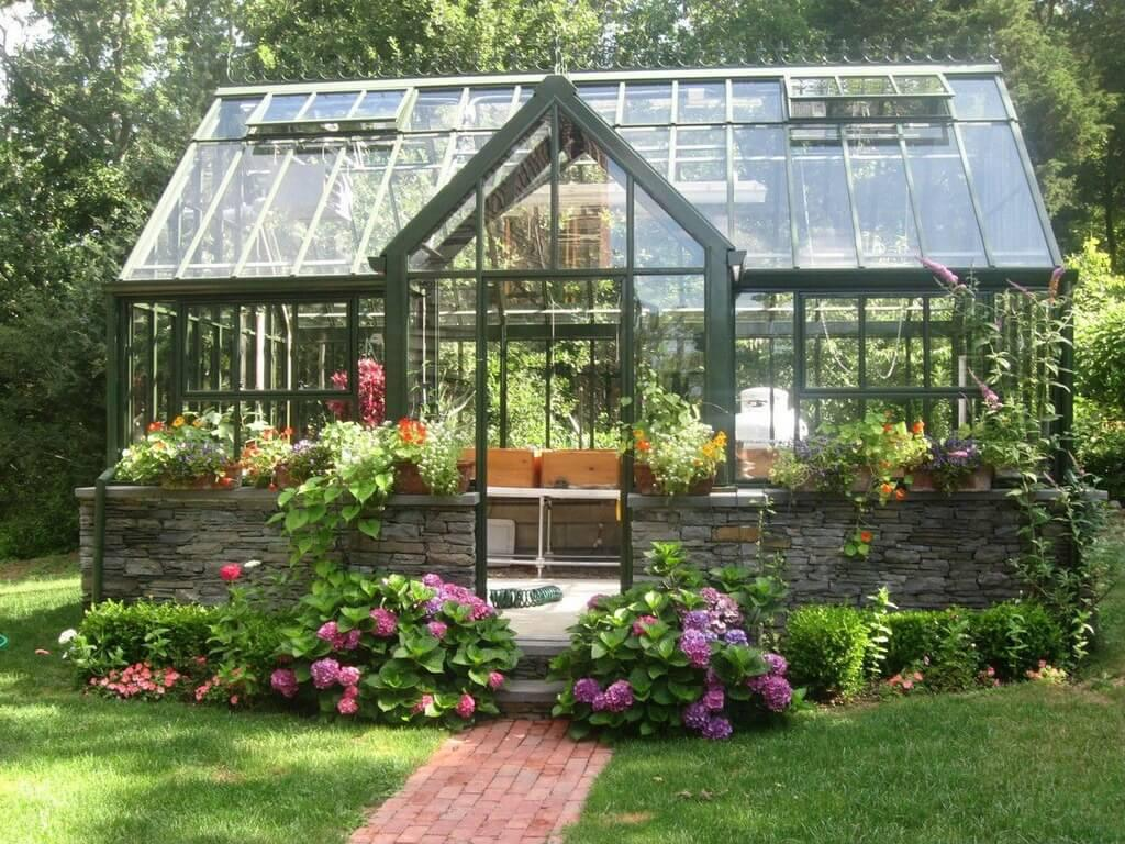 Image of: Greenhouse Ideas Plans