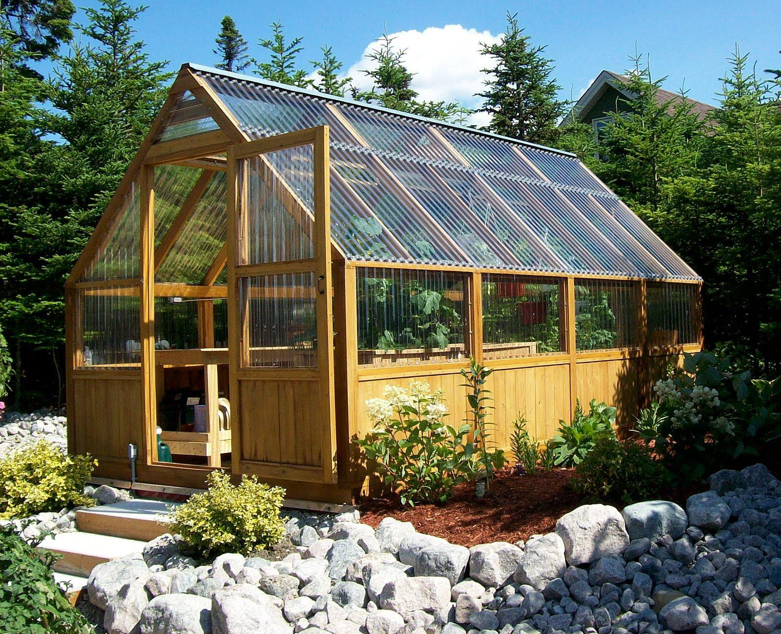 Image of: Awesome Greenhouse Ideas