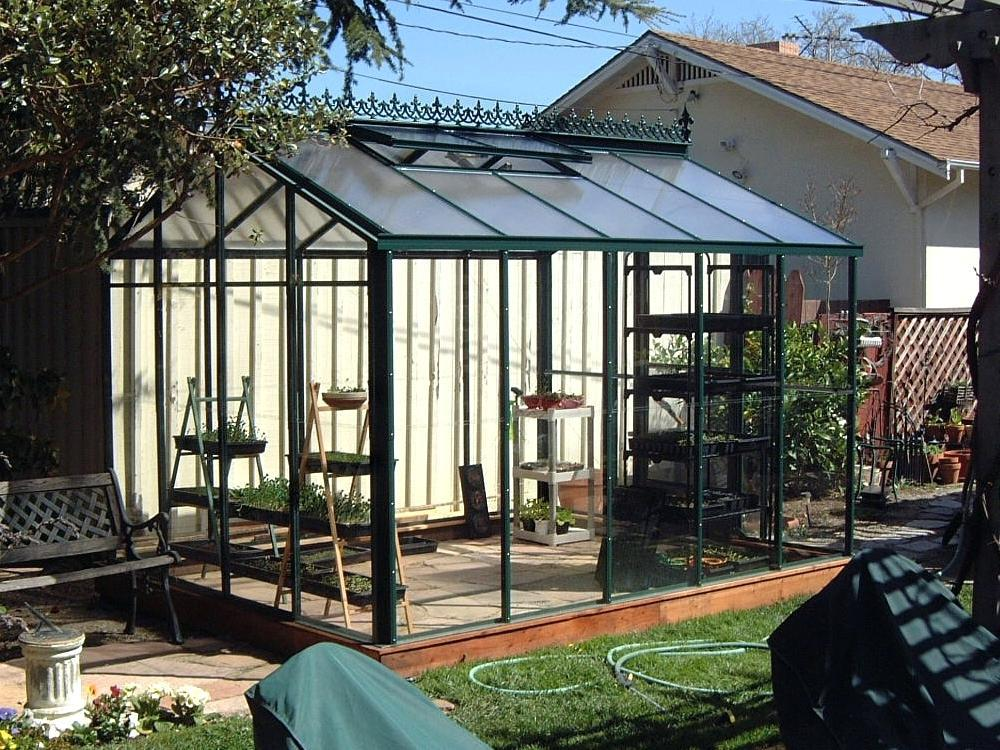 Image of: Greenhouse Pictures Homemade