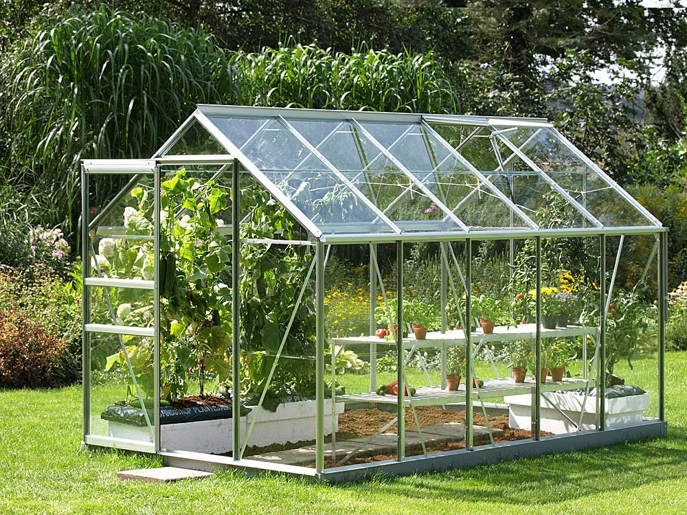 Image of: Greenhouse Shelving Ideas
