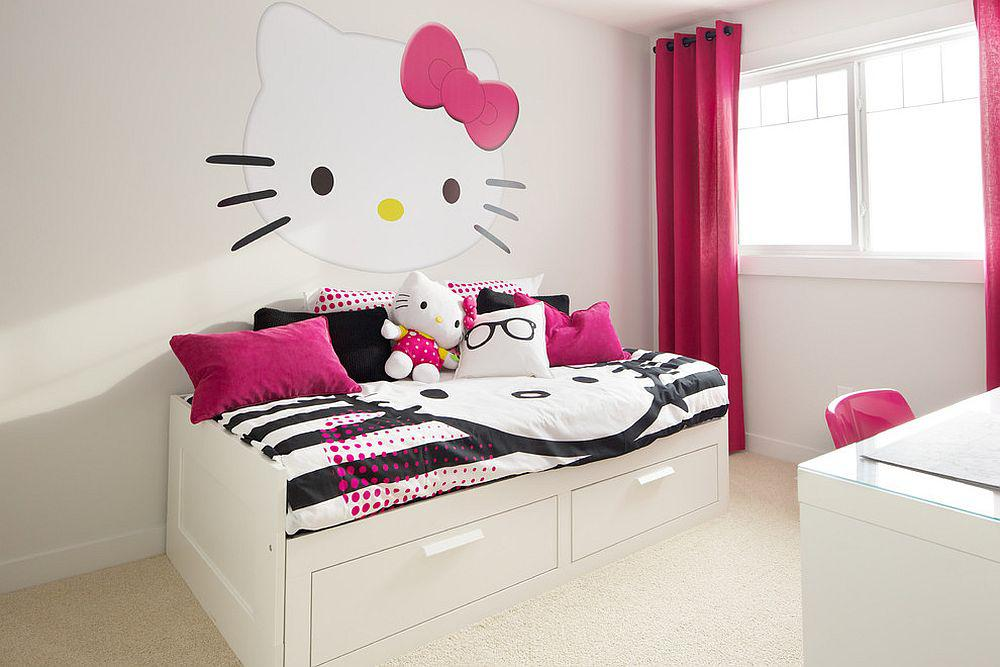 Image of: Hello Kitty Room Decor Ideas