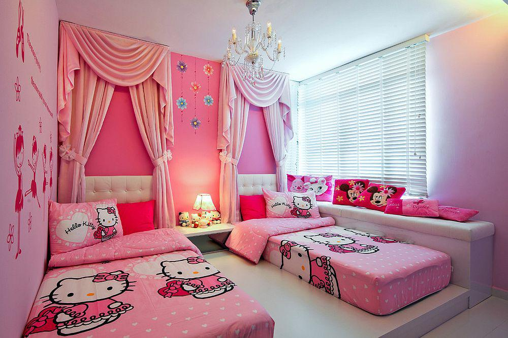 Image of: Hello Kitty Room Design Ideas