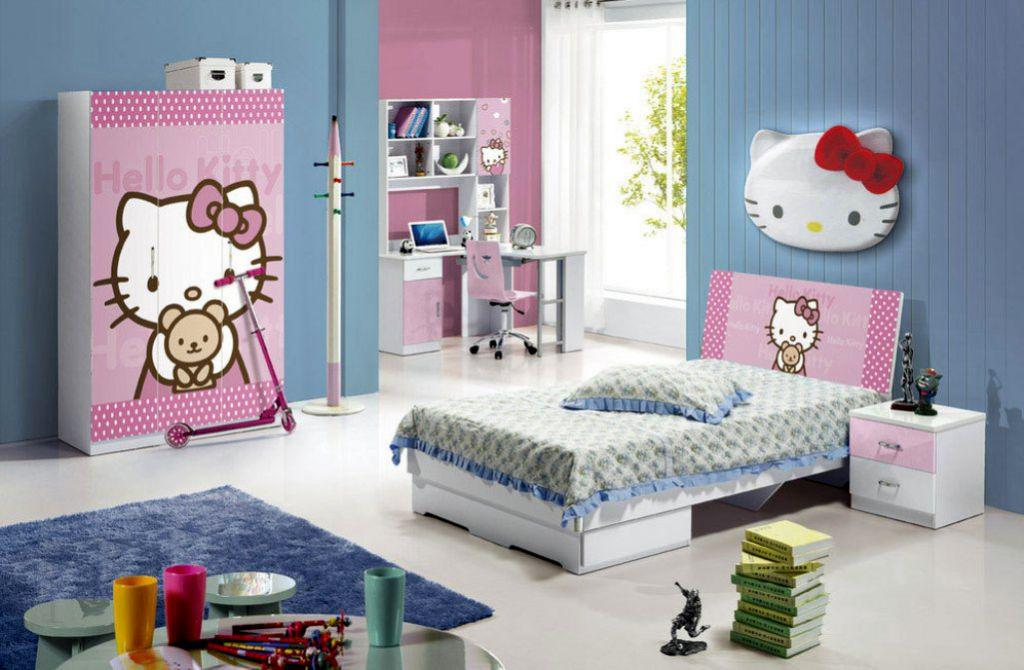 Image of: Hello Kitty Themed Room Ideas
