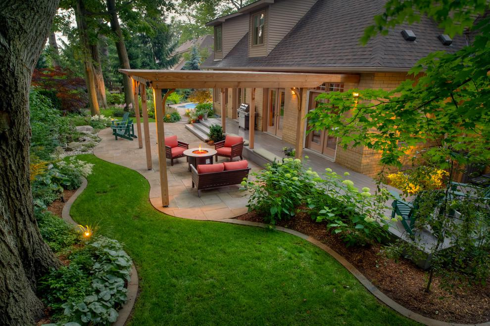 Image of: Home Backyard Landscaping Ideas