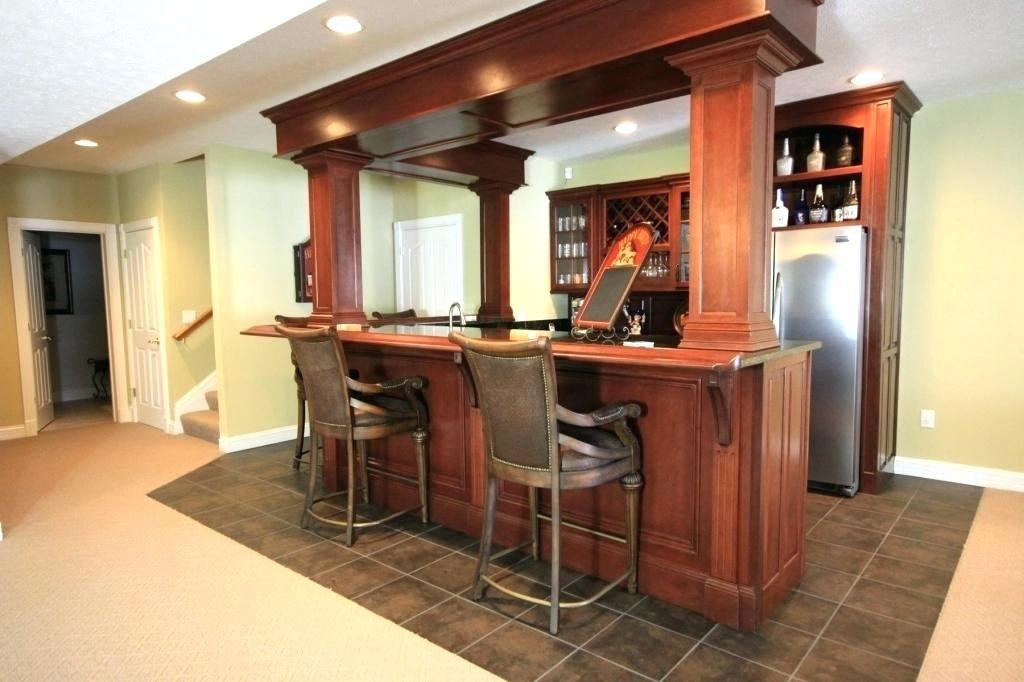 Image of: Home Bar Plans Diy