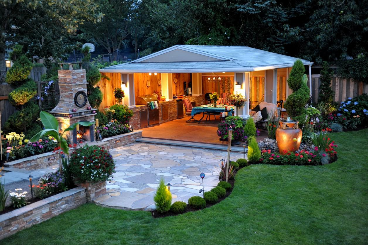 Image of: Home Landscaping Ideas On A Budget
