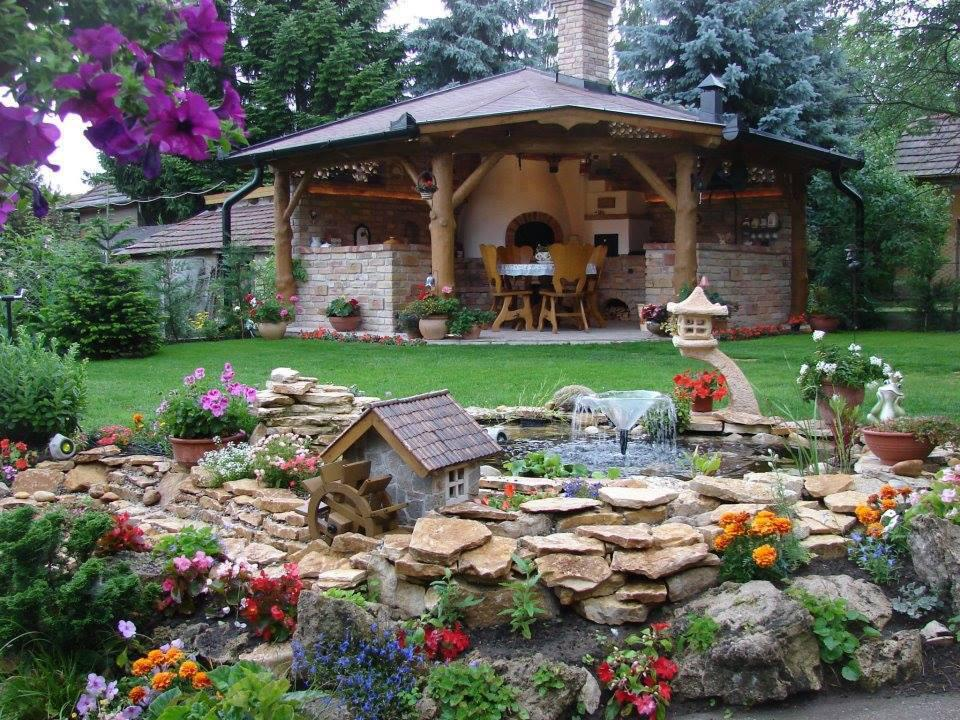 Image of: Home Landscaping Ideas With Rocks