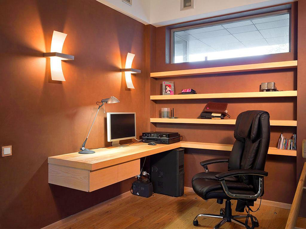 Image of: Home Office Arrangement Ideas