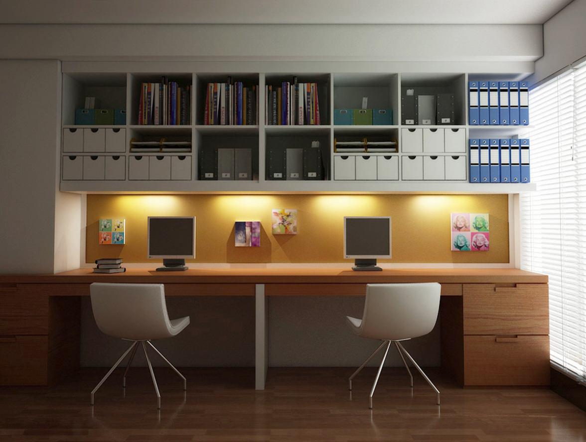 Image of: Home Offices Ideas
