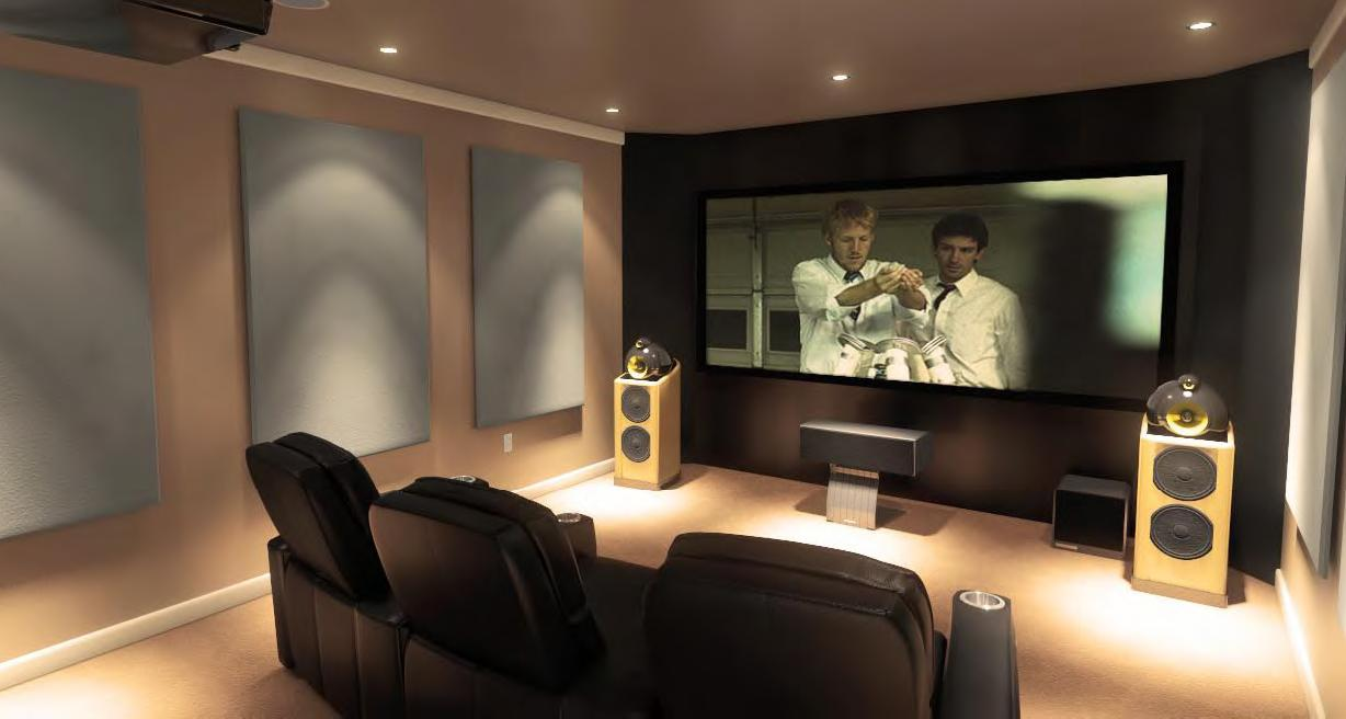 Image of: Home Room Theater