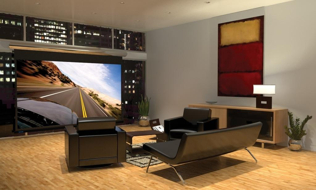 Image of: Home Theater Furniture Ideas
