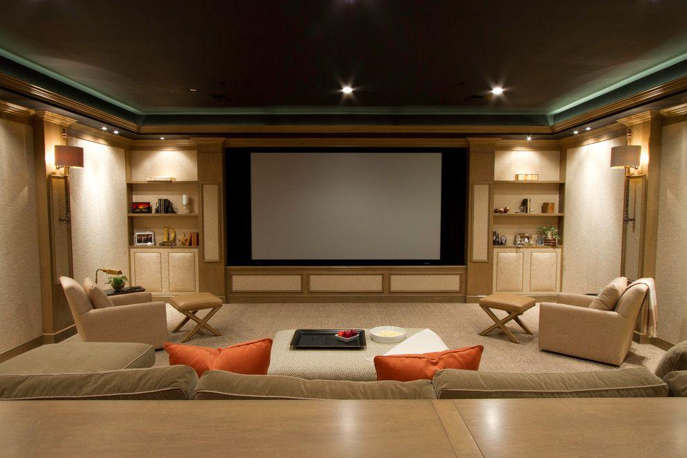 Image of: Home Theater Furniture Near Me