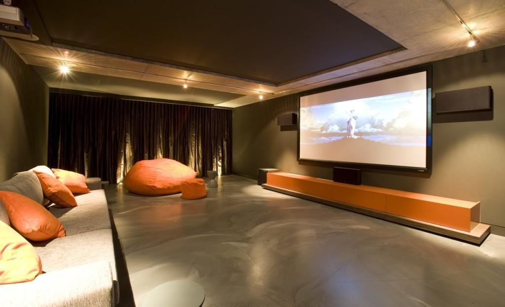 Image of: Home Theater Furniture Seating