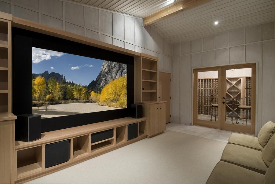 Image of: Home Theater Furniture