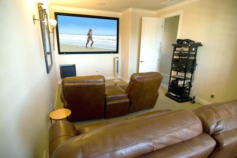 Image of: Home Theater Room Decor