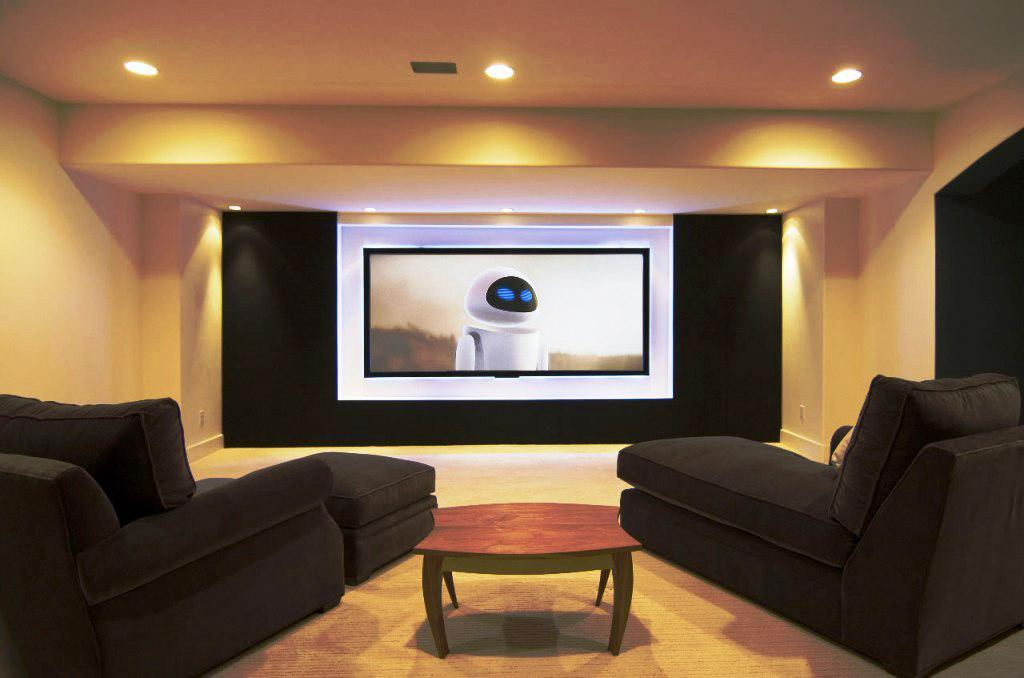 Image of: Home Theater Room Decorating Ideas
