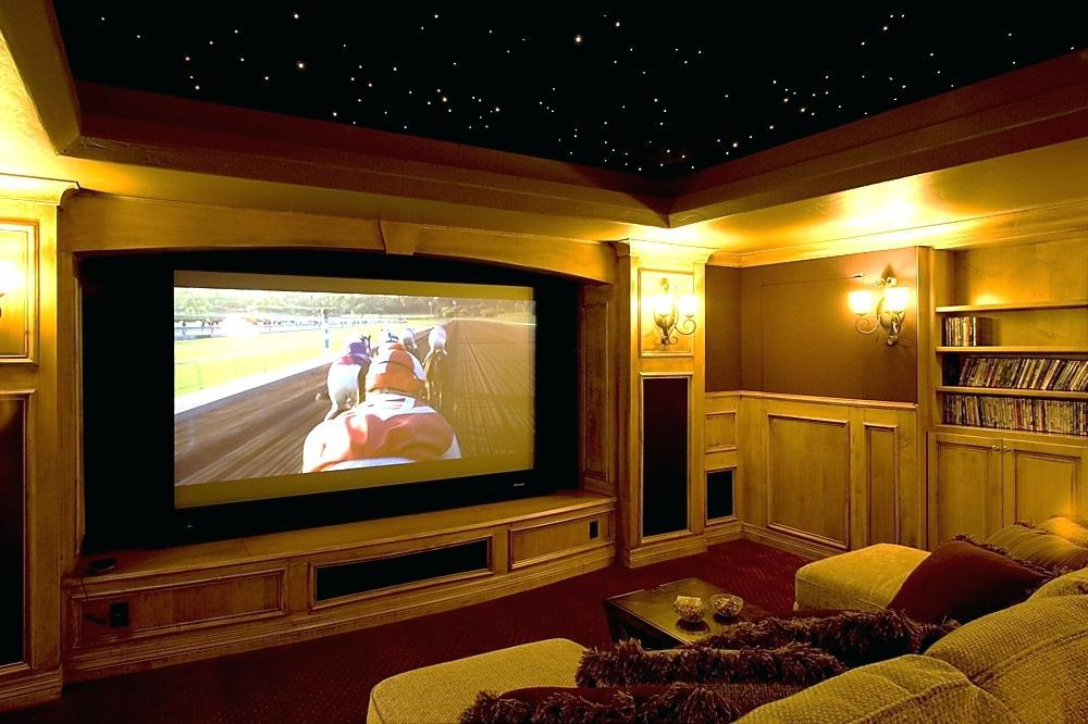 Image of: Home Theater Room Design Plans