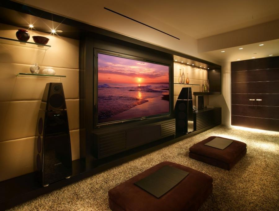 Image of: Home Theater Room Ideas On A Budget