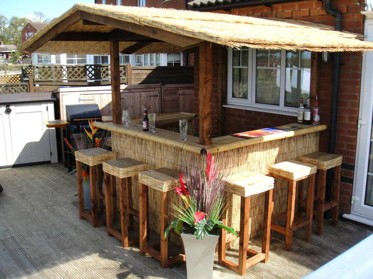 Image of: Homemade Bars Designs For Outdoors
