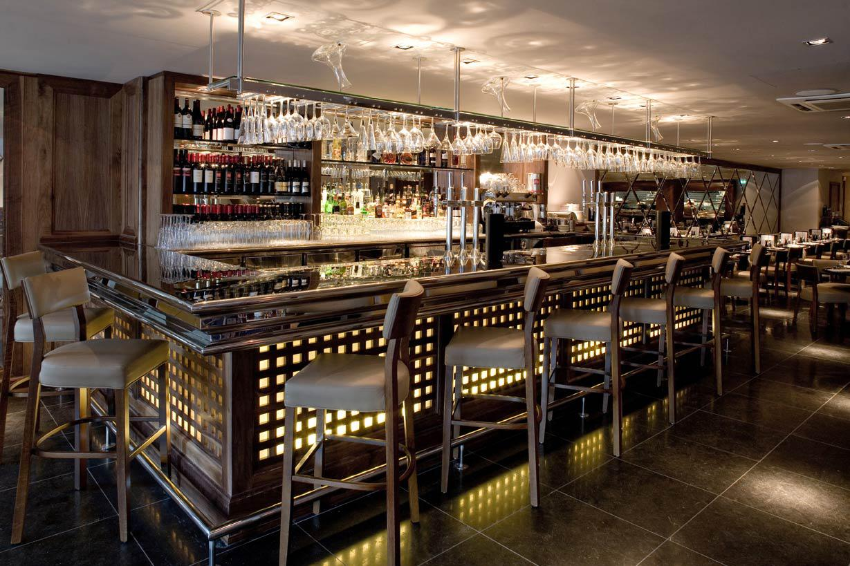 Image of: How To Decorate A Bar