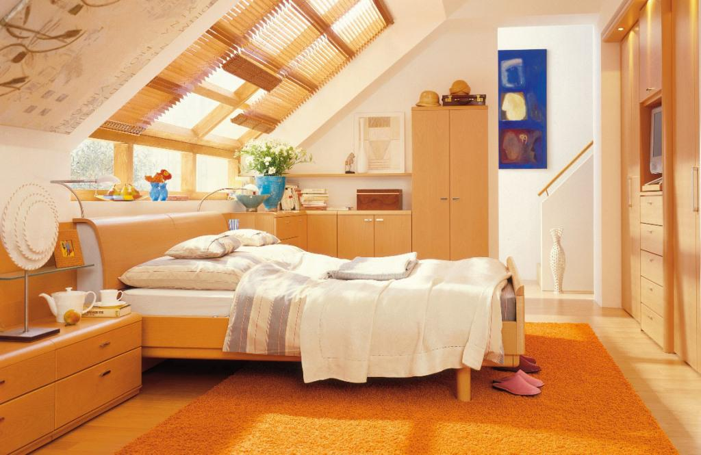 Image of: How To Decorate Your Attic Bedroom