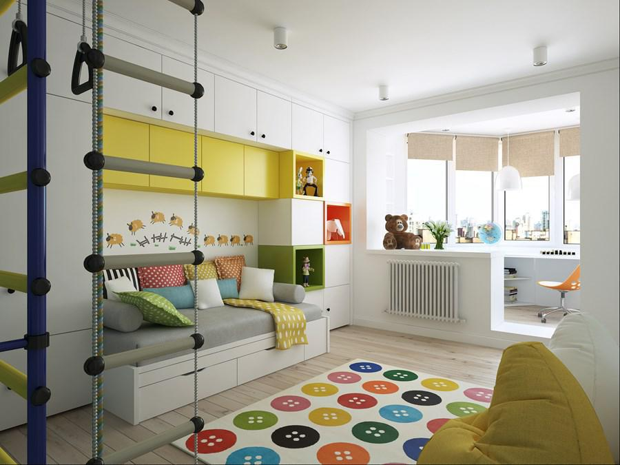 Image of: How To Design Kid Room