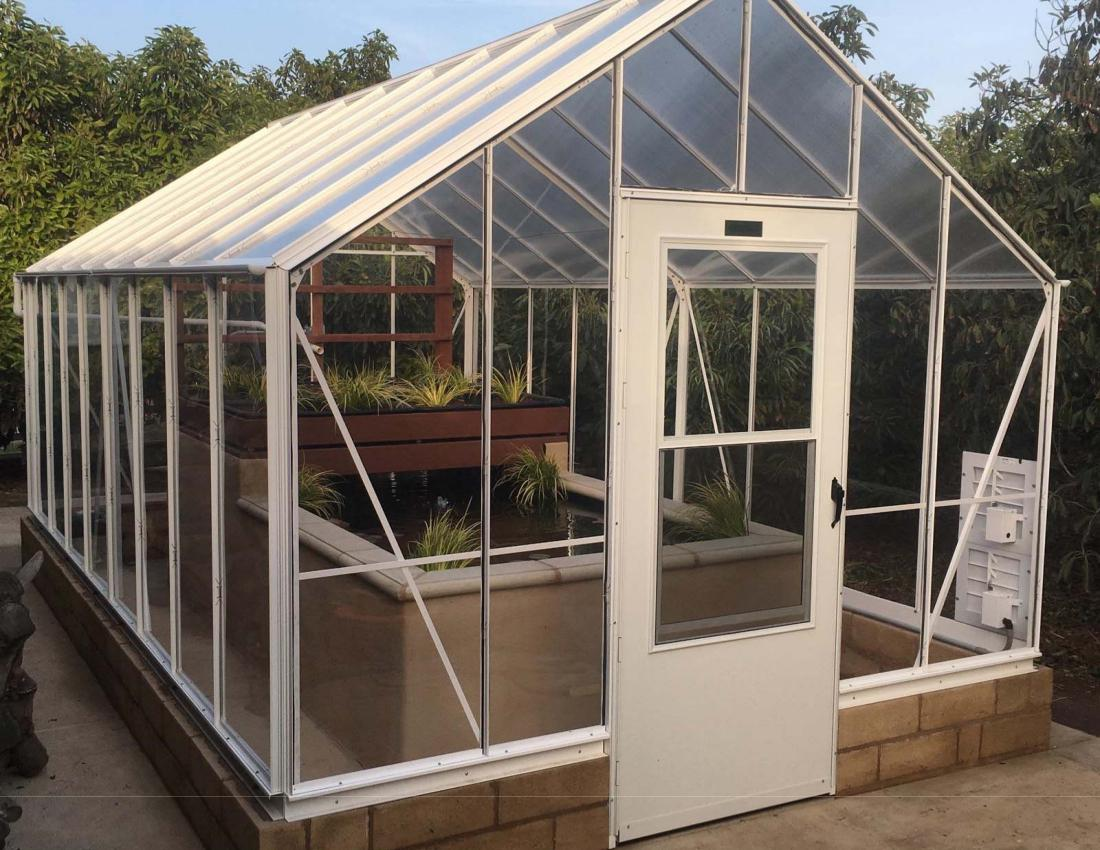 Image of: How To Make A Greenhouse Design
